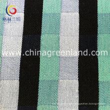 Thick Denim Jacquard Twill Fabric of 100%Cotton Textile Garment (GLLML163)