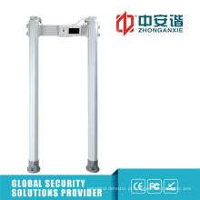 Outdoor High-End Situation 24 Zones Detector de metal digital com função impermeável