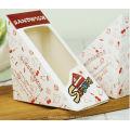 Dreieck Fenster Sandwich Verpackung Box