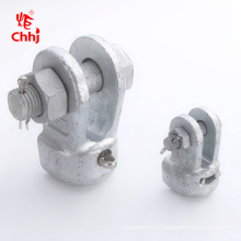 Electric overhead line cable accessory fittings WS type socket clevis