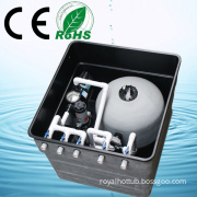 2014 New Arrive in-Ground Quartz Sand Pool Filter Swimming Pool Filter (R&Y 8083)