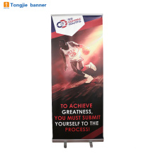 Interior aluminum digital printing roll up banner