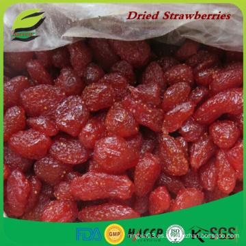 Bulk Fresas secas en jarabe de fresa seca con azúcar