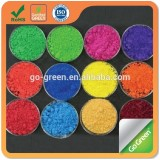 Color asphalt pigment inorganic iron oxide pigment high temperature resistance