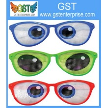 Funny Big Colorful Eye Sunglasses