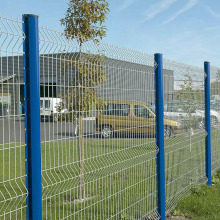 Galvanized PVC Coated Wire Mesh Yard Fence