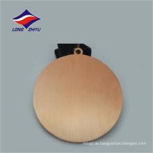 Hochwertige runde Form benutzerdefinierte Logo Sport Medaille Award