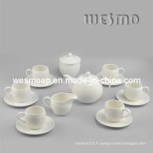 Set de café en céramique pour tasses (WTC0402A)