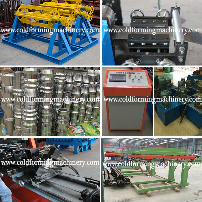 stud rack profile roll forming machine