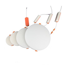 15w 120*H18mm High Brightness LED Recessed mounting with flexible spring clips   Light >90lm/W  Frameless  Panel Light