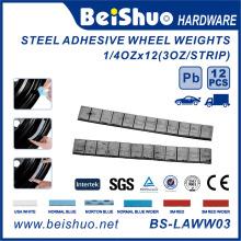 Stahlklebstoffgewichte 5 + 10