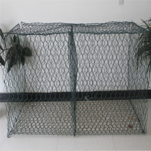 Woven hexagonal gabion mesh Iron wire gabion box
