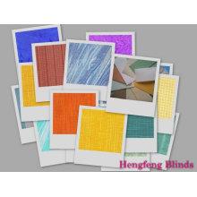 Tecido de lâminas cegas verticais