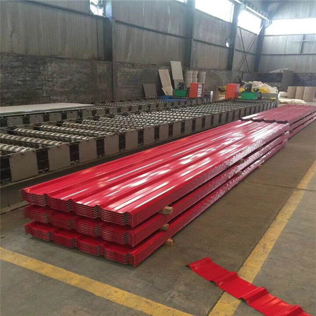 Galvanized zinc corrugated roofing sheet