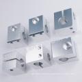 Pièces de rechange de machine à coudre CNC en aluminium avec traitement anodisé
