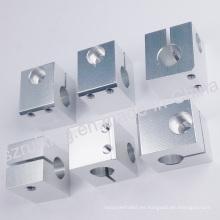 Piezas de repuesto de la máquina de coser del CNC del aluminio con el tratamiento anodizante