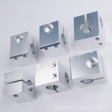 Peças sobressalentes da máquina de costura do CNC do alumínio com tratamento anodizando