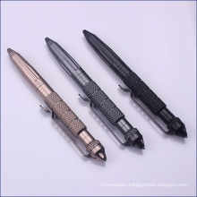 Promotional Aviation Aluminum Defense Tactical Pen for Writing and Defense