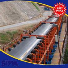 Chaîne de convoyeur de caoutchouc de minerai d'application de minerai indonesia à vendre