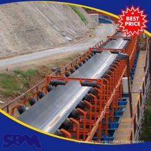 Mining Ore application rubber conveyor belt indonesia for sale