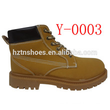 Mens nubuck PU cheap work boots camper boots with injection outsole