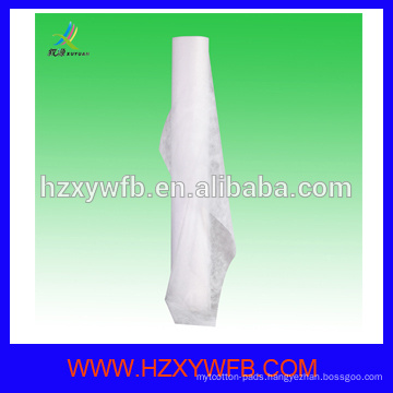 100% Polypropylene Spunbond Fabric Disposable Bed Sheet Hotel
