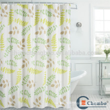 Modern elegant style curving rail shower curtain for tub
