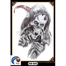 """""""Sewey kull"""" recentemente maravilhoso crânio tatuagens tatuagem temporária adesivo à prova d'água (design personalizado)"""