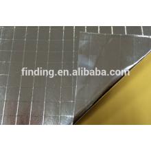 Double -sided foil scrim kraft (2-way scrim)/foil faced kraft paper
