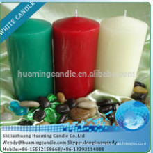 wholesale color scented Party decorated candle