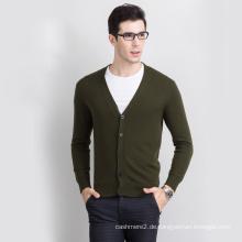 2017 heißer verkauf gestrickte alpaka wolle herren lila strickjacke pullover