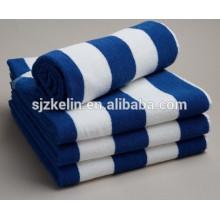 serviette à rayures en coton