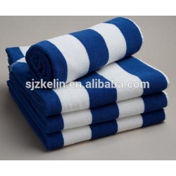 Handtuch aus Baumwolle mit Streifenmuster