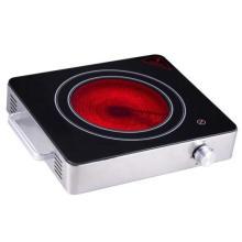Fogão cerâmico infravermelho do único queimador da aprovação dos CB do dispositivo de cozinha