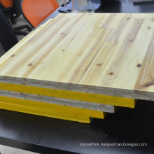 high quality 27mm 3 ply yellow shuttering panel from china