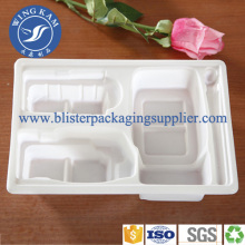 White Round Blister Macaron Packaging Tray