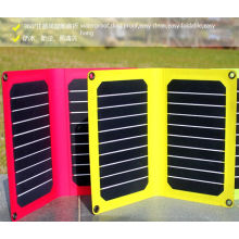 Espessura solar original do carregador 1mm do poder do telefone móvel de fábrica 10W ETFE