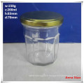 200ml Hexagonal Glass Jars on Sale