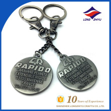Customize stylish Metal keychain With bus logo