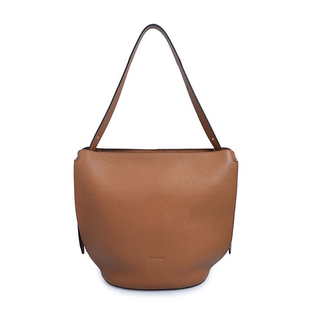 retro bucket bag fashion trend hand bag leather vintage shoulder sling bag