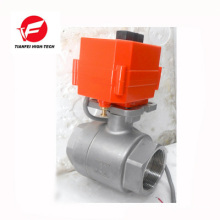 automatically close ss304 CTF-001 10nm motorized ball valve