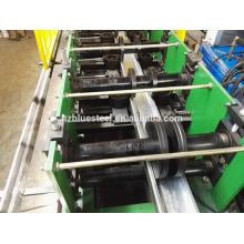 Change Dimensions C Z U W Omega Shape Purlin Cold Roll Forming Machine For Sale , Purlin Making Machine