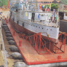 Boat Rubber Airbag for Marine Sunken vessel salvage