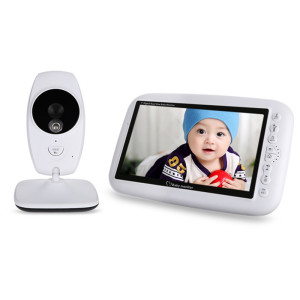 7 Inch LCD Dual View Video Baby Monitor