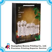 Luxus-Shampoo-Papiertüte für Supermarkt Promotion Einkaufstasche