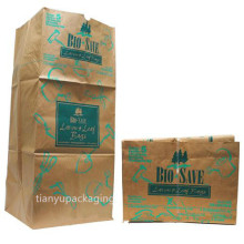 Multi-Layers Environmental Waterproof Brown Paper Rubbish Garbage Trash Bags