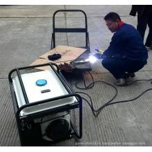 BISON (CHINA) Alibaba China 5kw 1-фазный портативный генератор бензиновых сварочных аппаратов