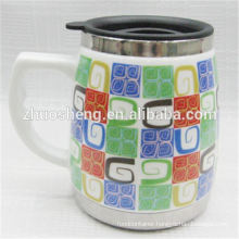 new style product bulk buy from china promotional coffee ceramic mug with handle