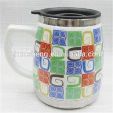 Новый стиль продукт купить оптом из Китая рекламные керамическая кружка кофе с ручкой