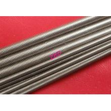 Plain Stainless Steel Threaded Rod Grade A2 / A4 M100